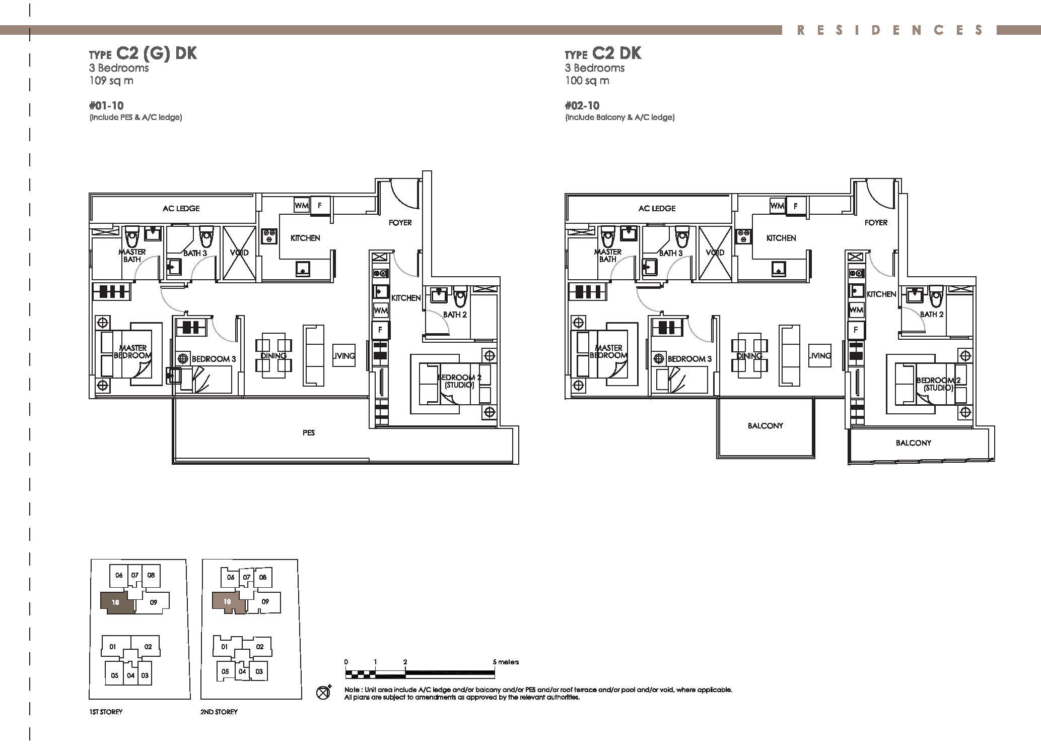 bently residences kovan 3 bedroom dual key